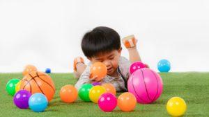 kids play at artificial grass