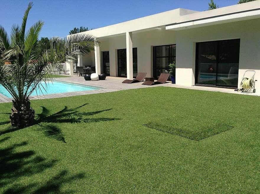 4 Small Backyard Landscaping Tips with Artificial Grass Installation in Modesto, CA